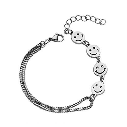 WAZG SYBLD Collar Sonriente (Metal Color : Bracelet)