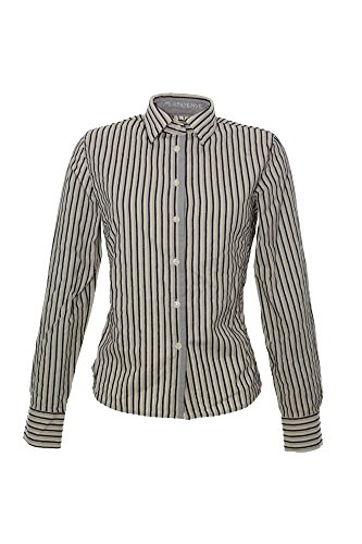 Murphy & Nye Bluse Mocha Damen Slim Fit Langarm, Farbe:weiß;Damengrößen:M