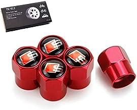 TK-KLZ 5Pcs S Line Logo Car Wheel Tires Valve Stem Caps for Audi S Line S3 S4 S5 S6 S7 S8 A1 A3 RS3 A4 A5 A6 A7 RS7 A8 Q3 Q5 Q7 R8 TT Car Styling Decoration Accessories