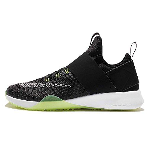 Zapatillas para correr de mujer Nike Air Zoom Strong, (Black/Dark Grey/Volt/White), 9 B(M) US
