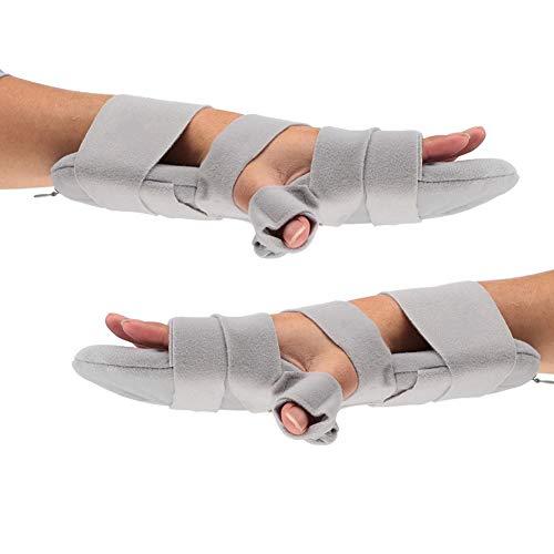 Férulas de muñeca, muñequera, reposamanos Ajustable Dedos ortopédicos Diapasón Puntas ortopédicas Mano Muñeca Manos Posicionamiento de manos Soporte Derecha Izquierda Hombres Mujeres