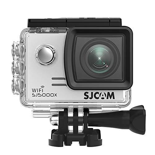 SJCAM SJ5000X Elite (versión española) - Videocámara deportiva (WiFi integrado, 4K, pantalla de...