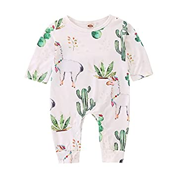 LiLiMeng Summer Infant Baby Boys/&Girls Watermelon Print Backless Romper Bodysuit Clothes