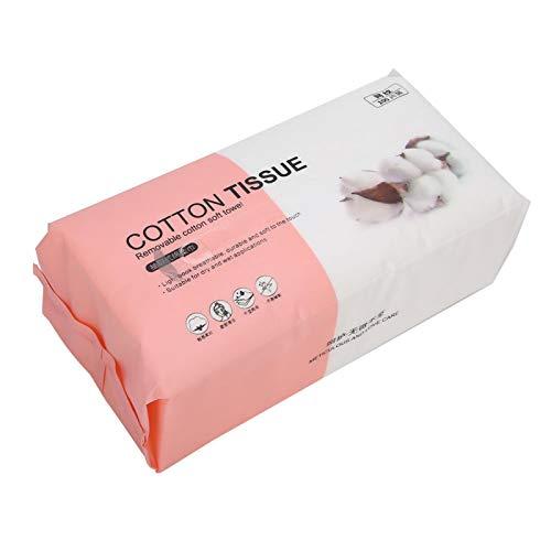 Serviette en papier démaquillante Tissu de nettoyage à sec humide Tissu de nettoyage du visage pour essuyage de la sueur pour une utilisation en voyage pour le démaquillage