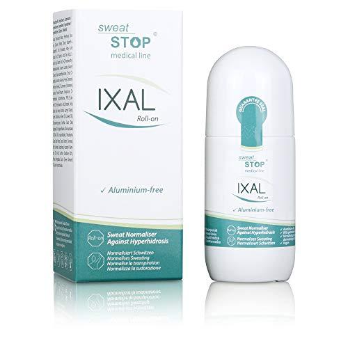 SweatStop IXAL Roll-on 50ml Zur Behandlung Von Axillärer Hyperhidrose Und Kontstantem Schwitzen