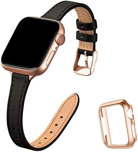 STIROLL Slim Leather Bands Compatible wi