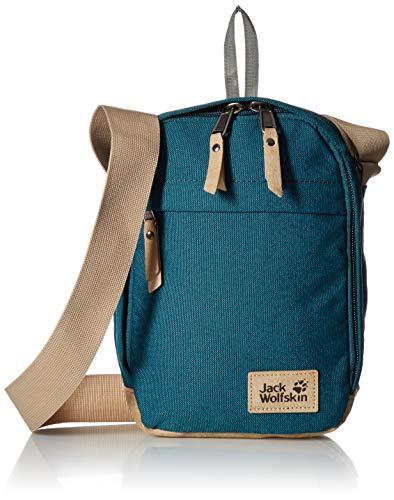 Jack Wolfskin Unisex-Erwachsene Heathrow sac à bandoulière Umhängetasche, Grün (Teal Green), One Size
