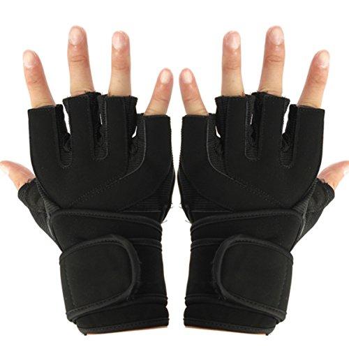 C-FUNN Professionele training Workout Fitness Sport Wrist Wrap Gewicht Lifting Gym Handschoenen