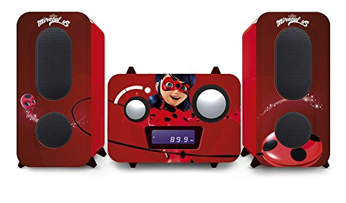 Miraculous mcd11miraculous–Micro-Cadena mit CD, Rot