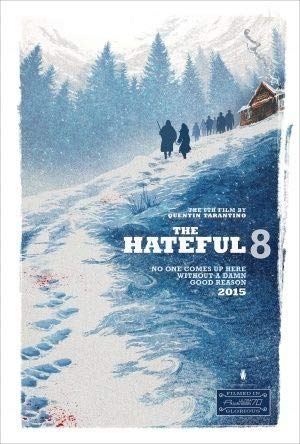 The Hateful Eight – Tarantino - U.S Movie Wall Poster Print - 43cm x 61cm / 17 Inches x 24 Inches A2 Hateful 8