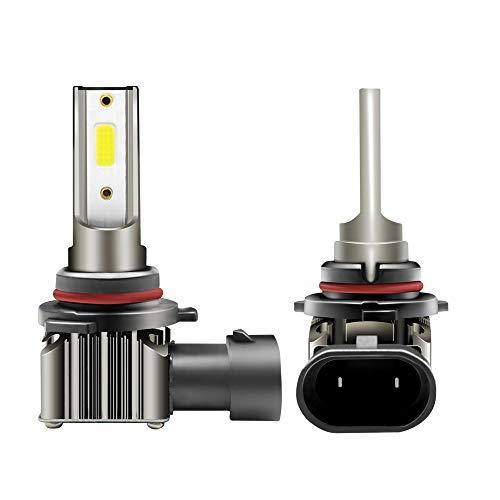 9006/HB4 Faros Delanteros Bombillas LED 36 W 6000LM 6000K Super Brillante Lámpara de Luces Blancas para Coches, Vehículos, IP68 Impermeable (2 Piezas)