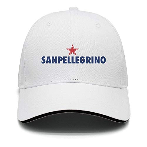 DGGGD Adjustable Unisex S.Pellegrino-Water- Cap Cute Baseball Hat