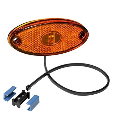 Aspöck Flatpoint II Side Marker LED jaune