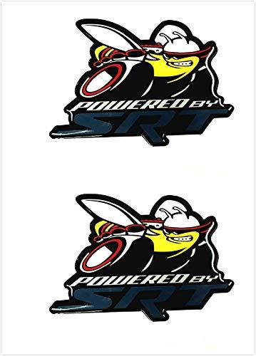 Gooogo Custom 2X Powered Badge Scat Pack Super Killer Bee Emblem...
