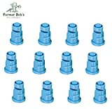 Pack of 12 - TeeJet Polymer Wide Angle Spray Tips Rated 1.0 GPM @ 40 PSI Farmer Bob's Parts TF-VP5