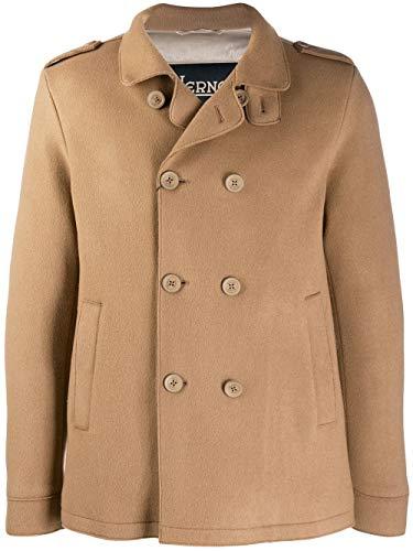 Herno Luxury Fashion Herren PC0102U331872120 Braun Polyamid Mantel | Herbst Winter 19