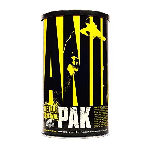Animal Pak - the Complete All-in-one Training Pack - Vitamin Pack for Men, Amino Acids, Zinc and more - for Elite Athletes and Bodybuilders - 44 Packs
