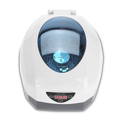 Nagelgereedschapssieraden reinigingsmachine horloge-brillen-valse tanden ultrasone reiniger EU.