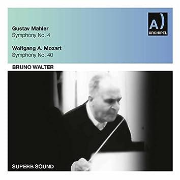 Mahler: Symphony No. 4 in G Major - Mozart: Symphony No. 40 in G Minor, K. 550 (Live)