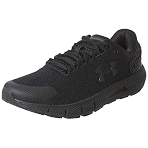 Under Armour Men's Charged Rogue 2 Running Shoe, Black (003)/Black, 10