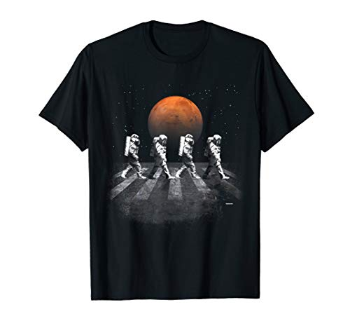 Astronauts in Walking in Space Occupy Mars T-Shirt