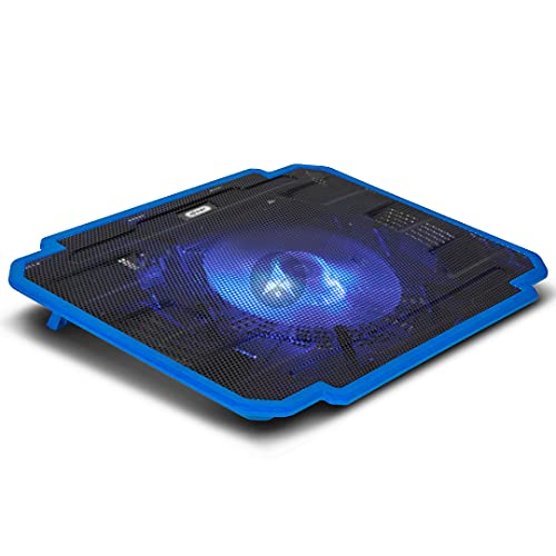 "Suporte Notebook Ate 17"" Com Cooler KP-9012 C/Led Azul"