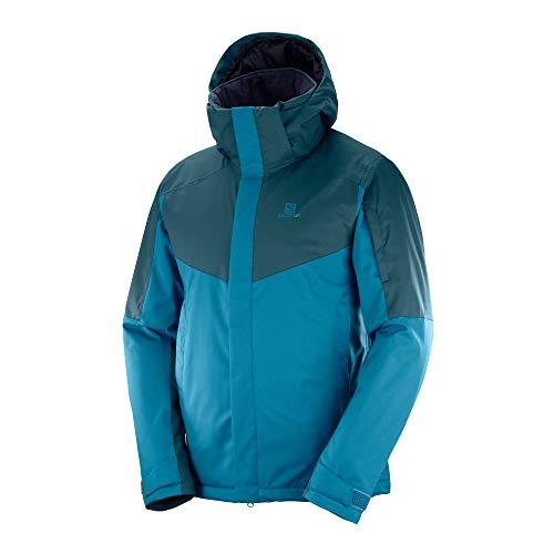 SALOMON(サロモン) スキーウエア メンズ ジャケット STORMSEEKER JACKET M (ストームシェーカー ジャケット M) LC1006600 MOROCCAN BLUE/Reflecting Pond/S