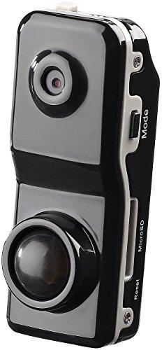 Somikon Minispycam: Mini-Action-Cam Raptor-5000.pr mit PIR-Bewegungssensor (Kamera mit Bewegungsmelder)