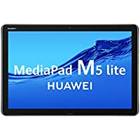 "Huawei MediaPad M5 Lite 10 - Tablet DE 10.1"" Full HD (LTE, RAM de 3 GB, ROM de 32 GB, Android 8.0, EMUI 8.0) Color Gris"