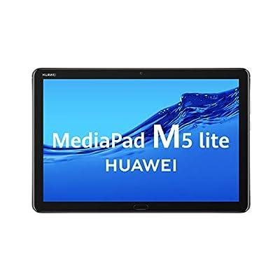"HUAWEI MediaPad M5 Lite 10 - Tablet de 10.1"" Full HD (LTE, RAM de 3 GB, ROM de 32 GB, Android 8.0, EMUI 8.0) Color Gris 3"