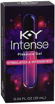K-Y Intense Pleasure Gel - .34 fl oz, Pack of 2