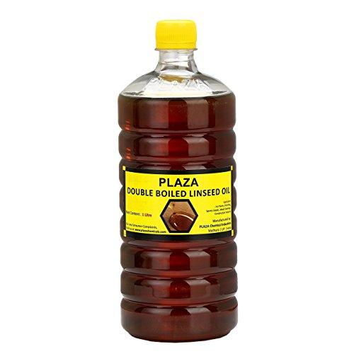PLAZA - Aceite de linaza doble hervida - 1 litro