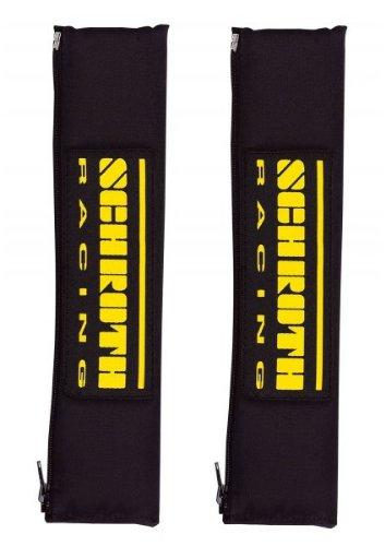 Schroth 119 Gurtpolster Racing 50mm schwarz/gelb