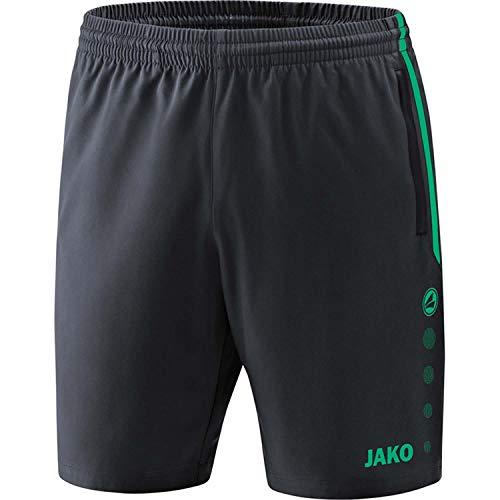 JAKO , Training & Fitness - Damen , Shorts , Competition 2.0 , anthrazit/türkis , 34-36 , 6218