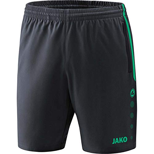 JAKO , Training & Fitness - Damen , Shorts , Competition 2.0 , anthrazit/türkis , 38-40 , 6218