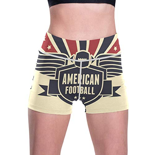 LUPINZ American Football Flag Hintergrund Sport Hose Atmungsaktiv Yoga Pants Casual Pants Gr. L, 1