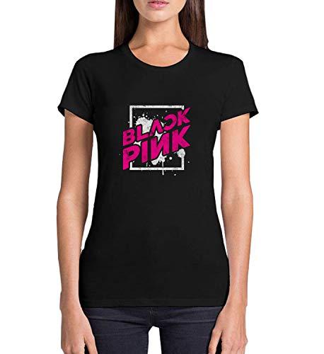 Kpop Girls Group Blackpink_MRZ5422 Camiseta 100% algodón para mujer, suéter de...