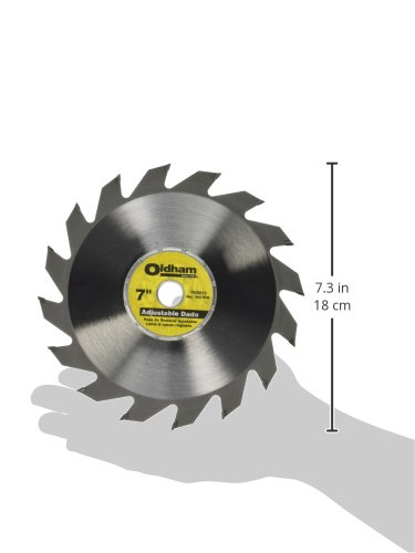 Porter-Cable 7005012 Oldham 7-in Adjustable Dado Blade
