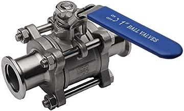 High Vacuum Quick Ball Valve KF-25 Stainless Steel Clamp With Lock Vacuum Ball Valve