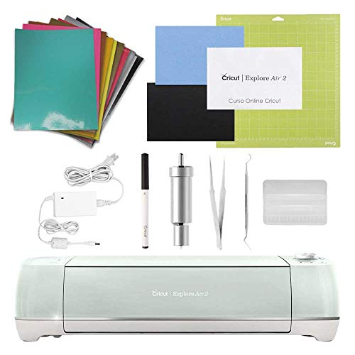 Plotter de Recorte Cricut Explorer Air 2 + Kit Vinil