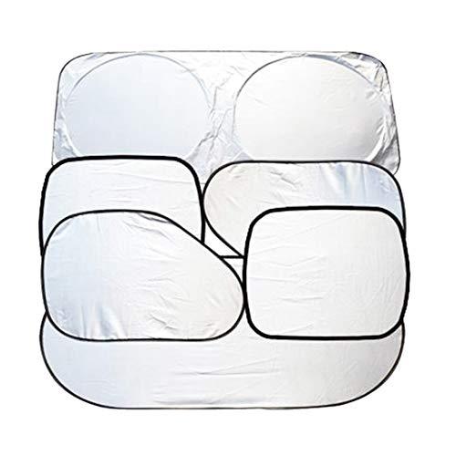 Zhhlinyuan Visor Shield Cover Stores de Fenêtre de Voiture pour Bébé - 6 Paquets Rayons UV Nocifs Pare-Soleil de Protection