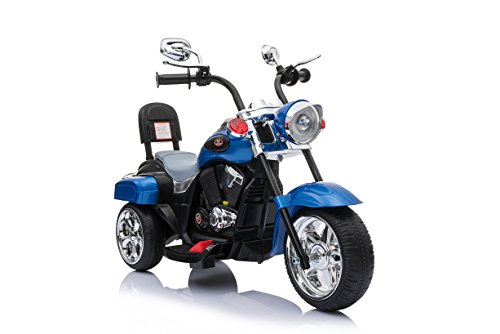 Harley Trike Chopper Kindermotorrad Elektromotorrad MP3 (TR1501bl)