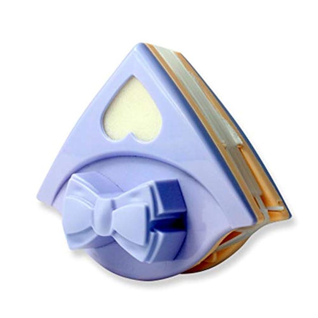 実証するパパカポック両面マグネットウォッシュウインドワイパー磁気ブラシダブルサイド家庭用ガラスクリーナーマグネットウィンドウのクリーニングブラシツール (Color : Bow tie)