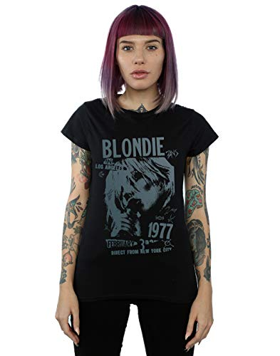 Blondie 1977 Tour T-shirt by Absolute Cult, S to 2XL