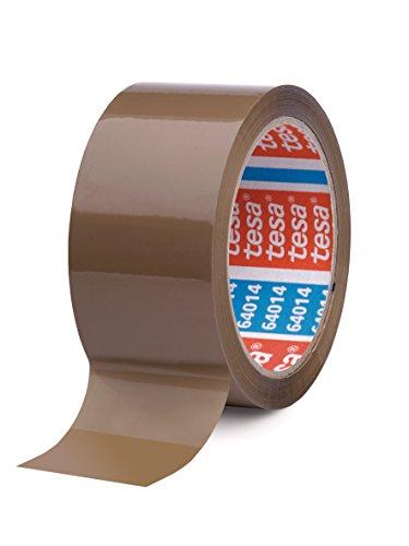 Tesa 1 Rolle Paketklebeband (66m:50mm, leise abrollbar) braun