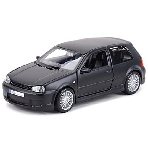 LXLN Coches de Juguetes 1:24 para Vo-lkswagen para Golf para Vehículos R32, Vehículos Fundidos A Presión, Modelo De Coche, Juguetes