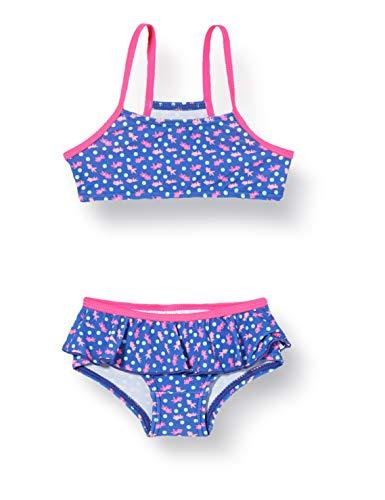 Sanetta Mädchen Bikini Badebekleidungsset, Blau (Blau 50286), (Herstellergröße: 104)