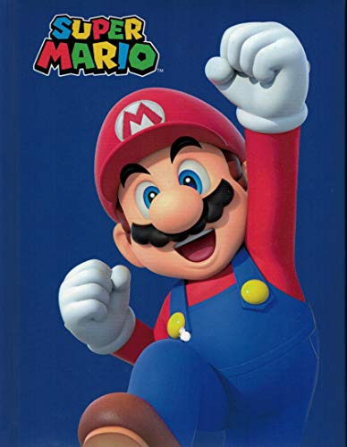 CARTOON WORLD DIARIO Agenda Scuola Super Mario Bros e Luigi a