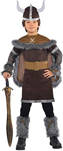 Amscan International - Disfraz Viking Warrior para niños, 12-14 años