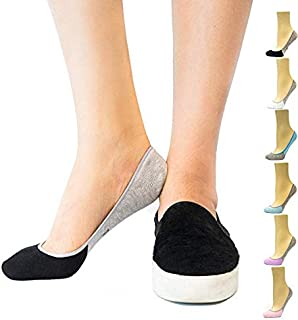 Women's No Show Socks, Loafer Socks Boat Shoe Socks Liner...